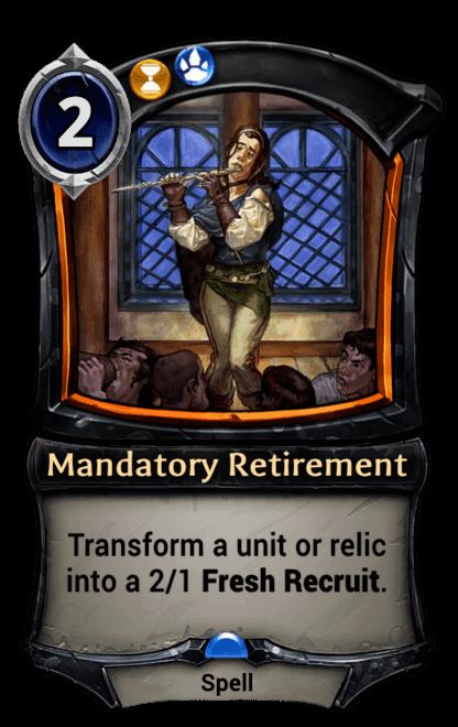Card image for Mandatory Retirement