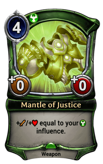 Card image for Mantle of Justice