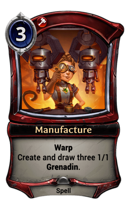 Card image for Manufacture