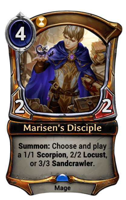 Card image for Marisen's Disciple