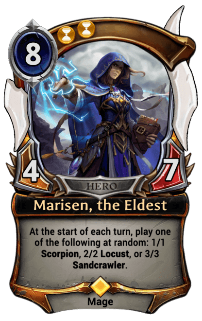 Card image for Marisen, the Eldest