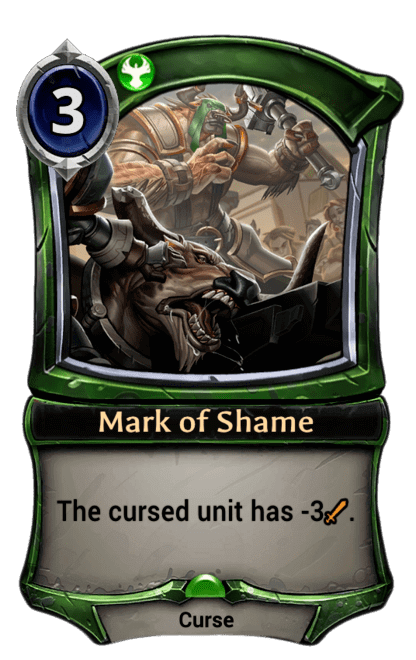 Card image for Mark of Shame