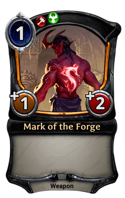Card image for Mark of the Forge