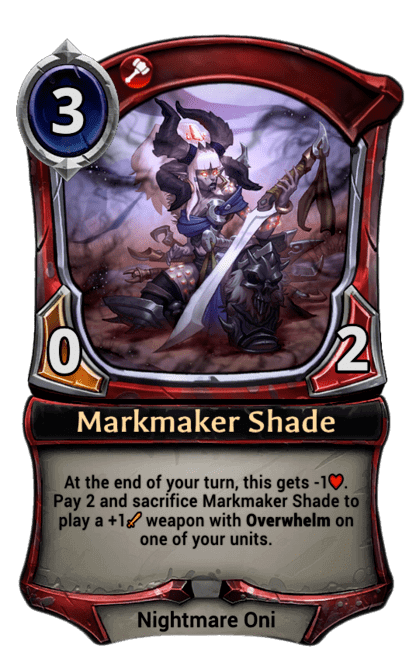 Card image for Markmaker Shade