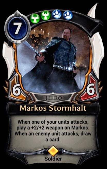 Card image for Markos Stormhalt