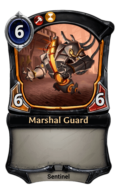 Card image for Marshal Guard