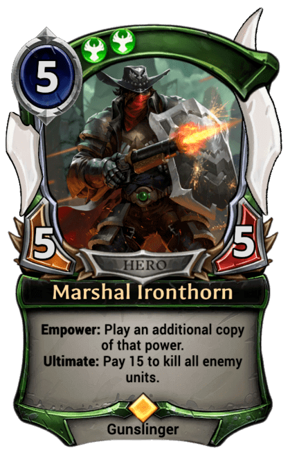 Card image for Marshal Ironthorn