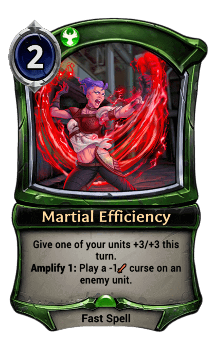 Card image for Martial Efficiency