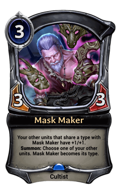 Card image for Mask Maker