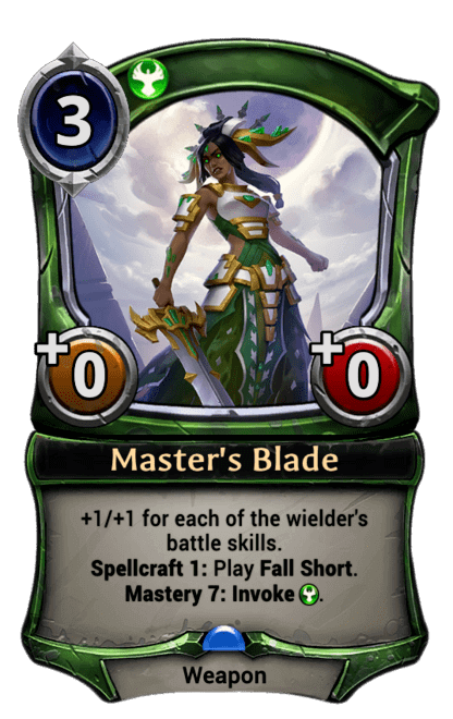 Card image for Master's Blade