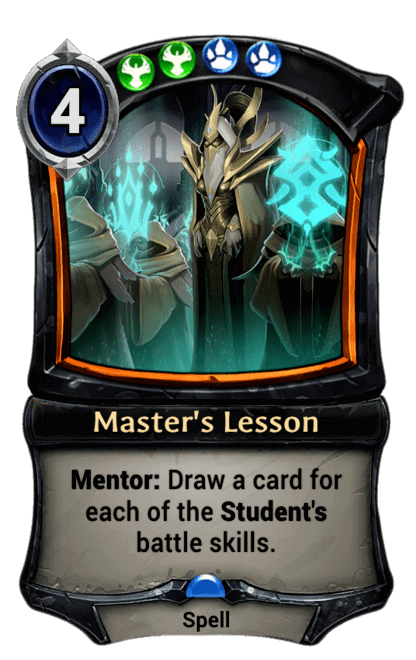 Card image for Master's Lesson