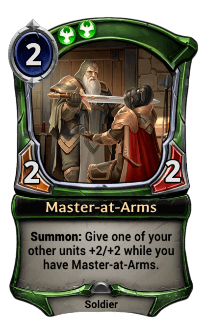Card image for Master-at-Arms