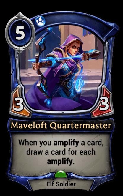 Card image for Maveloft Quartermaster