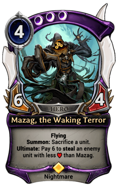 Card image for Mazag, the Waking Terror