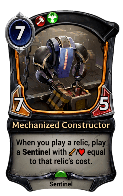Card image for Mechanized Constructor
