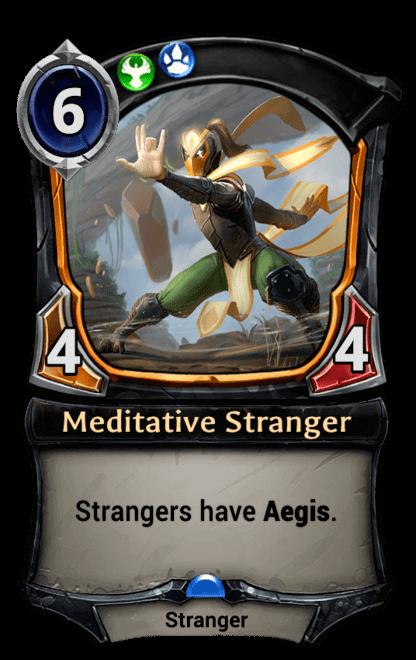 Card image for Meditative Stranger