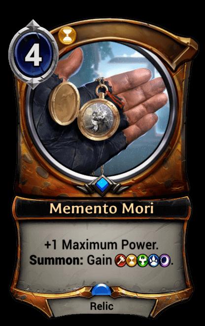 Card image for Memento Mori