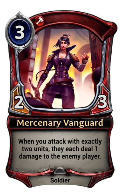 Card image for Mercenary Vanguard