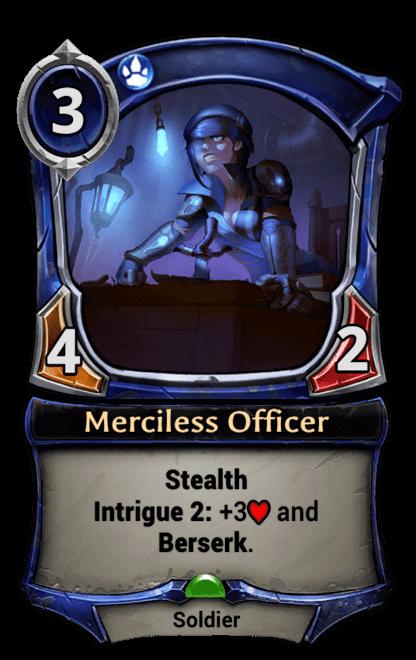 Card image for Merciless Officer