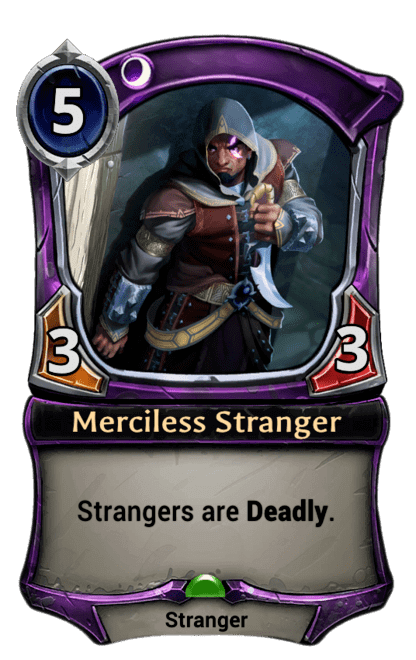 Card image for Merciless Stranger
