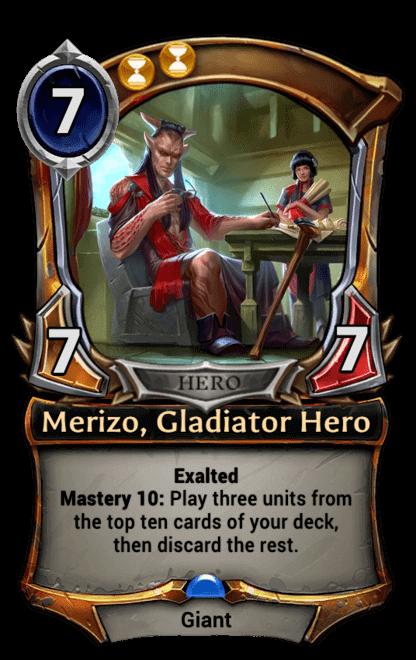 Card image for Merizo, Gladiator Hero