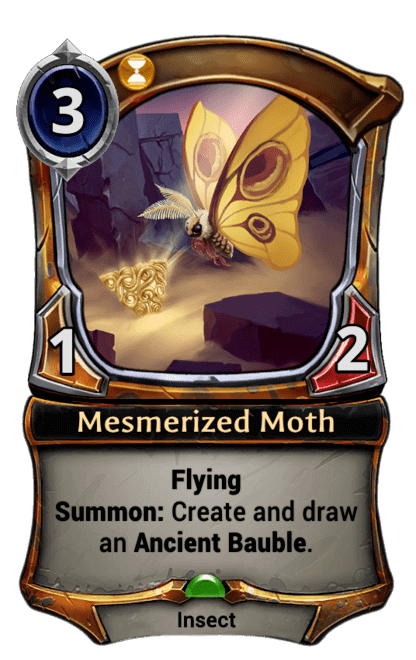 Card image for Mesmerized Moth
