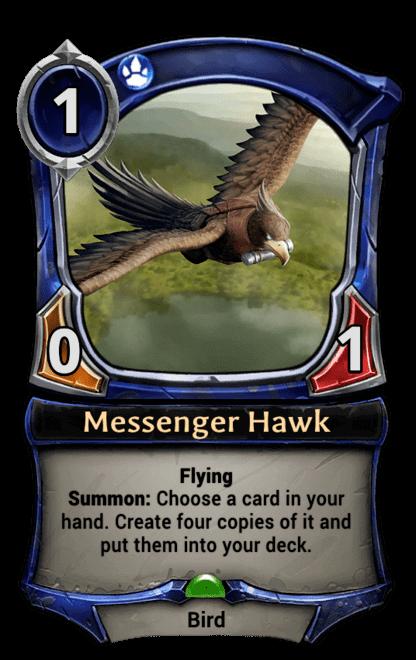 Card image for Messenger Hawk