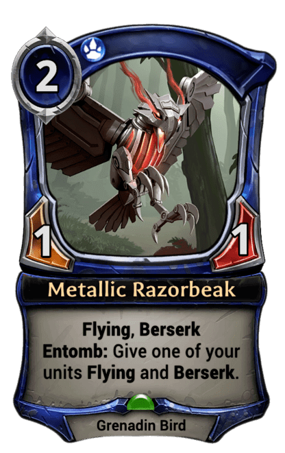 Card image for Metallic Razorbeak