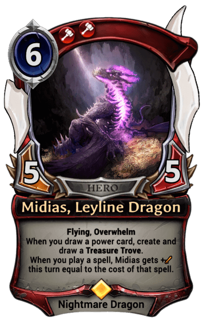 Card image for Midias, Leyline Dragon