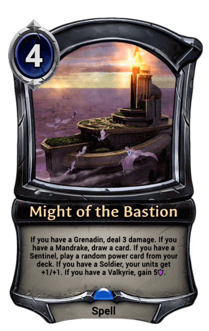 Card image for Might of the Bastion