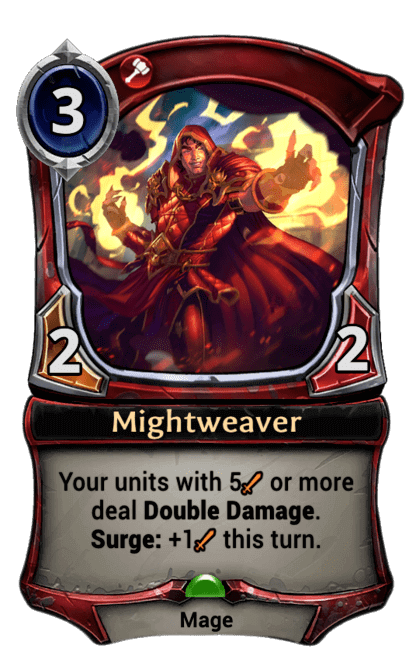 Card image for Mightweaver