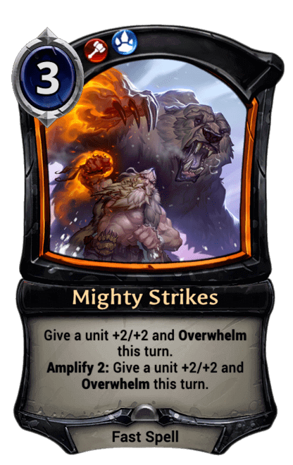 Card image for Mighty Strikes