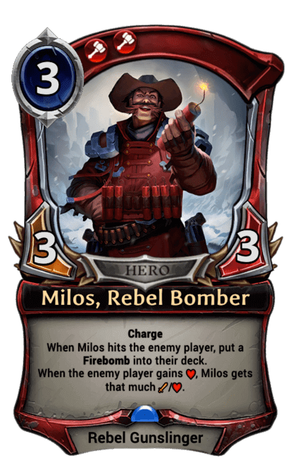 Card image for Milos, Rebel Bomber