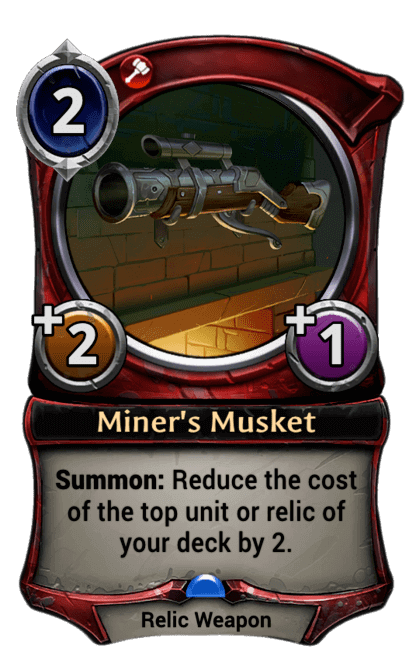 Card image for Miner's Musket