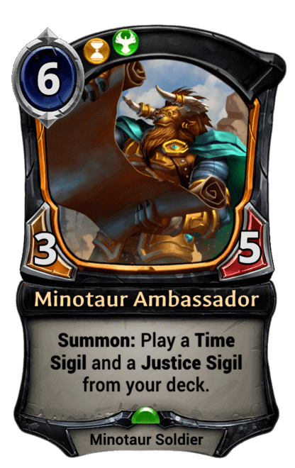 Card image for Minotaur Ambassador