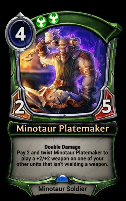 Card image for Minotaur Platemaker