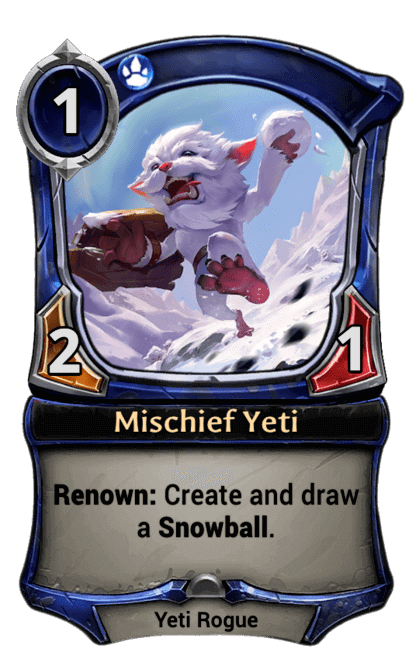 Card image for Mischief Yeti