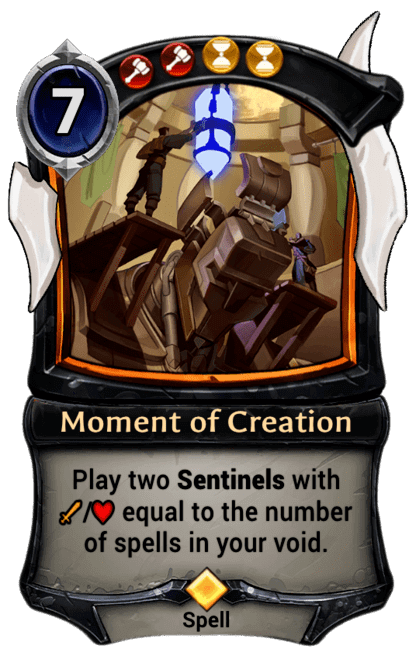 Card image for Moment of Creation