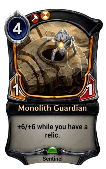 Card image for Monolith Guardian