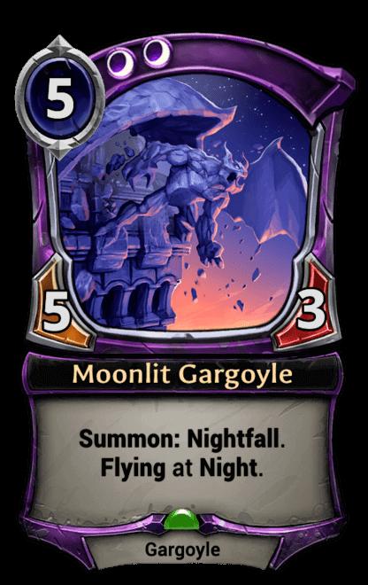 Card image for Moonlit Gargoyle
