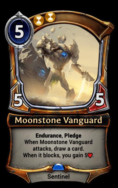 Card image for Moonstone Vanguard