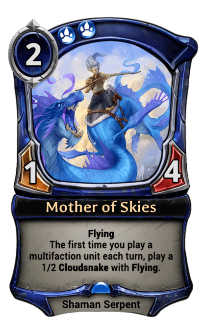 Card image for Mother of Skies