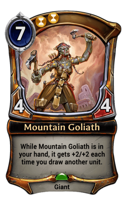 Card image for Mountain Goliath