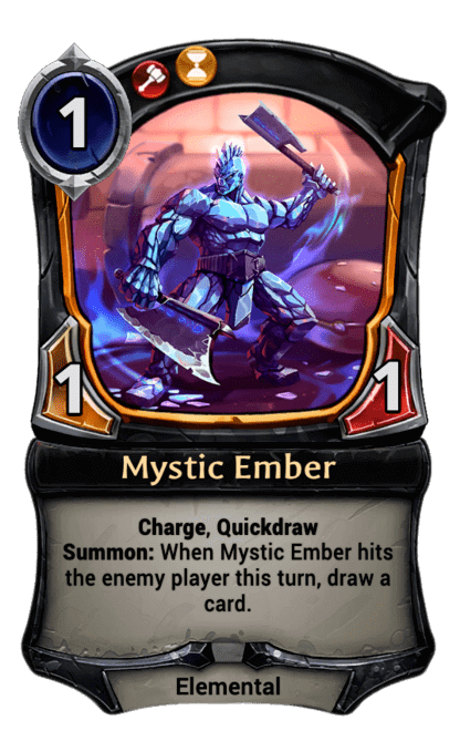 Card image for Mystic Ember