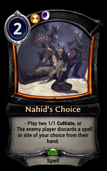 Card image for Nahid's Choice