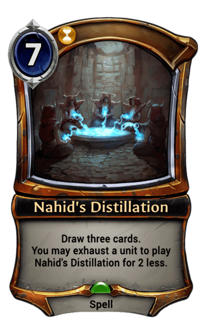Card image for Nahid's Distillation