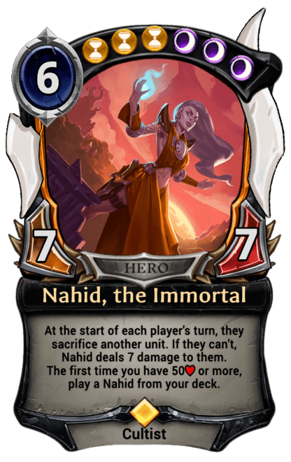 Card image for Nahid, the Immortal