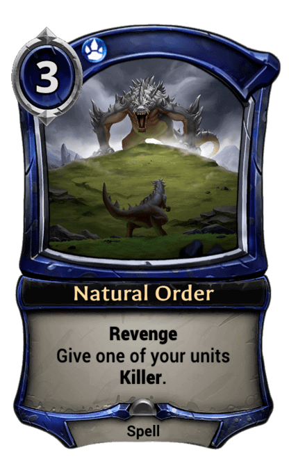 Card image for Natural Order