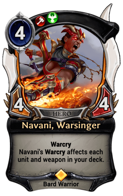 Card image for Navani, Warsinger