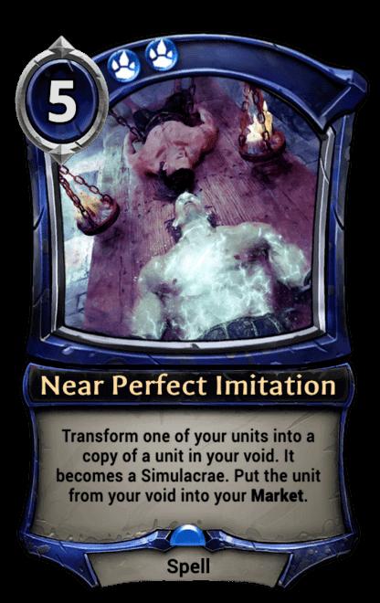 Card image for Near Perfect Imitation
